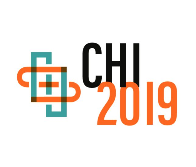 Honourable mention at CHI 2019